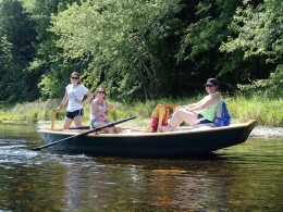 Guided fishing trips on the Kennebec