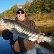 A Kennebec River striper