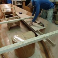 Driftboat construction