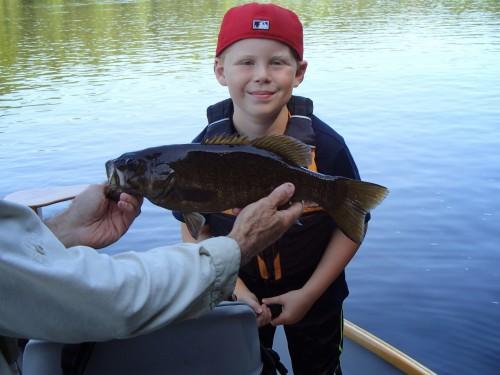 Kennebec River smallmouth bass