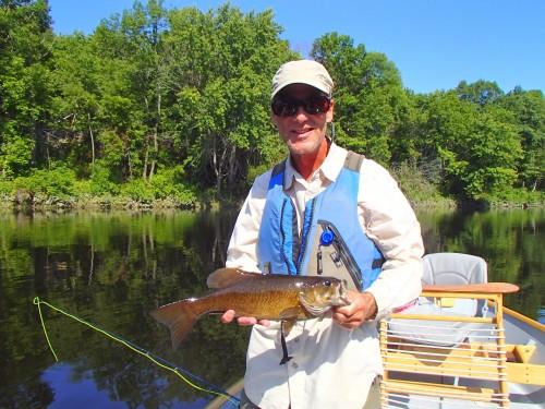 A Kennebec River smallmouth